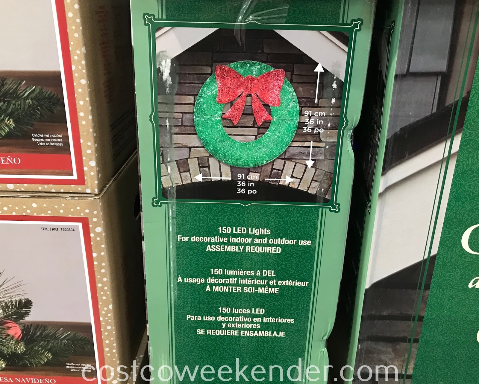 Costco 2002055 - LED Wreath: great for the holidays