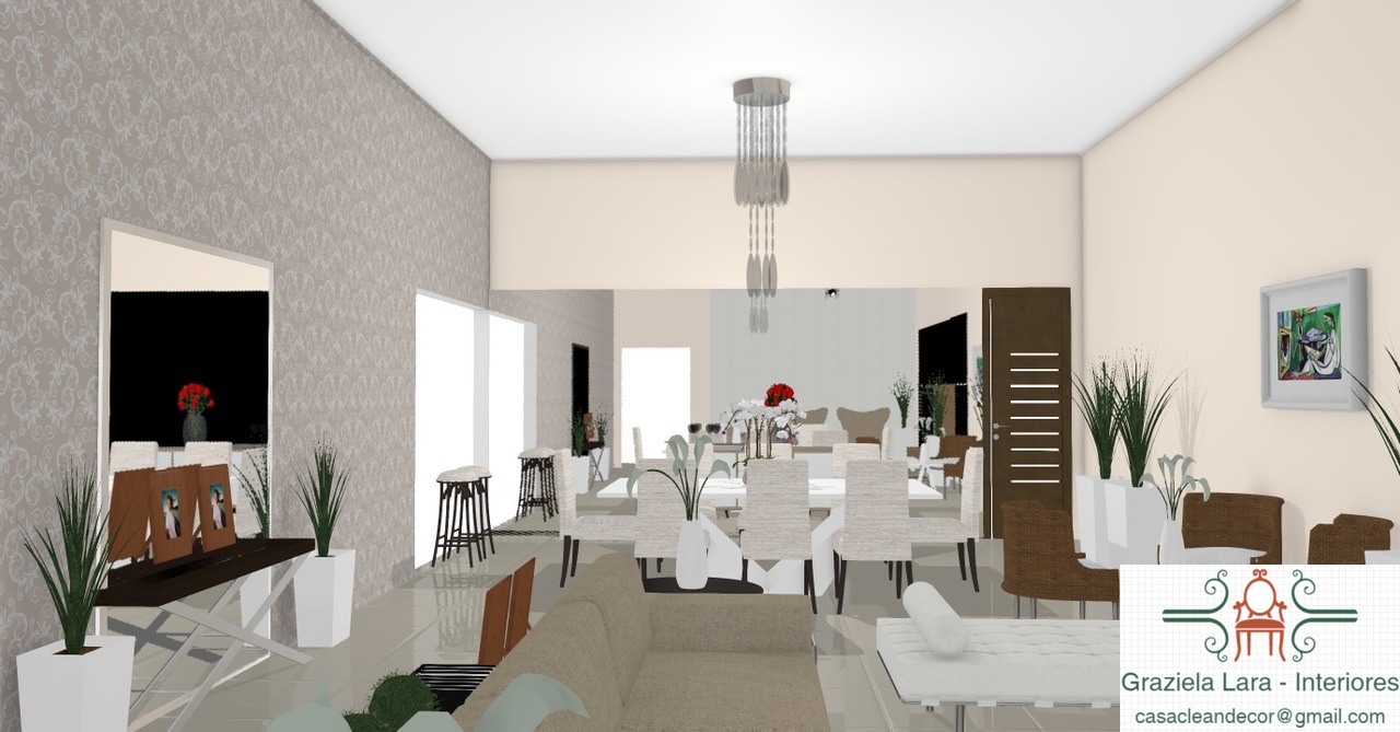 Construindo Minha Casa Clean Consultoria De Decora O Com 3d Salas