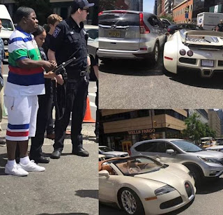 American actor,?Tracy Morgan gets in an accident barely 15-minutes after buying a?$2 Million Bugatti