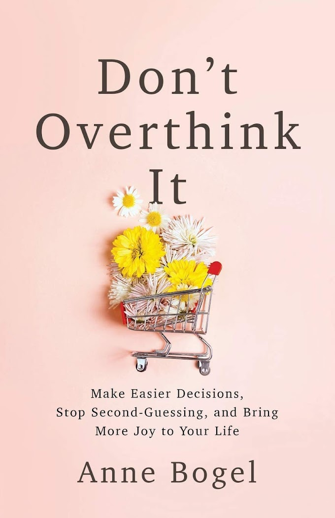 Don't Overthink It by Anne Bogel FREE Ebook Download