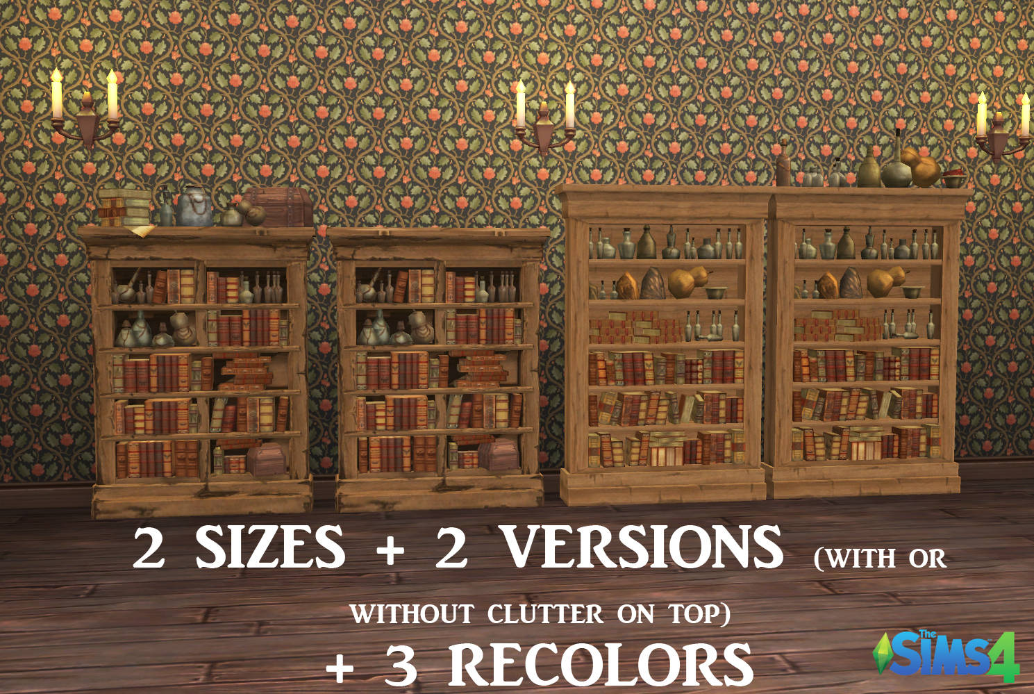 Very Impressive portraiture of  : The Sims Medieval Bookcases for Sims 4 History Lover's Sims Blog with #2966A2 color and 1489x999 pixels