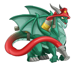 Firefighter Dragon
