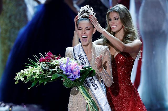 Деми-Ли Нель-Питерс из ЮАР - Мисс Вселенная — 2017