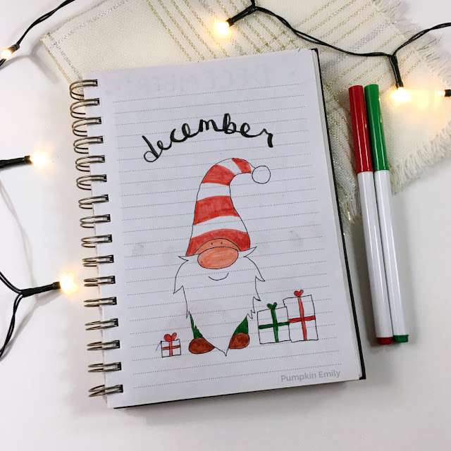 December 2019 Bullet Journal Cover