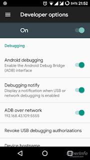 ADB over network