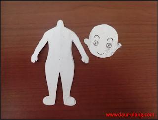 Cara Membuat Boneka Sederhana Dari Kain Perca Bekas Lengkap Dengan Gambarnya