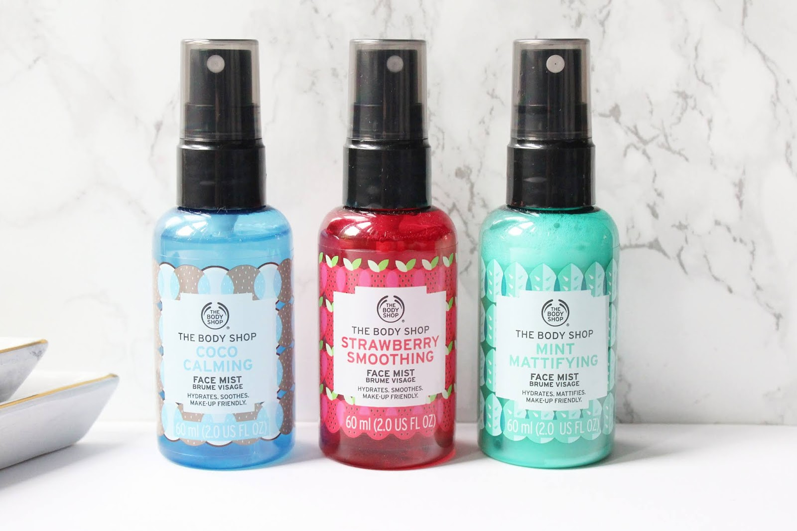 The Body Shop Face Mists Review