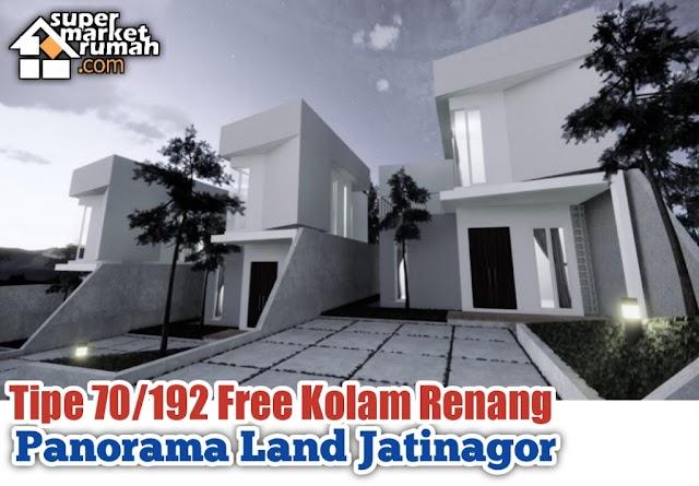 Perumahan Bandung Timur khusus Tipe 70/192 free Kolam Renang