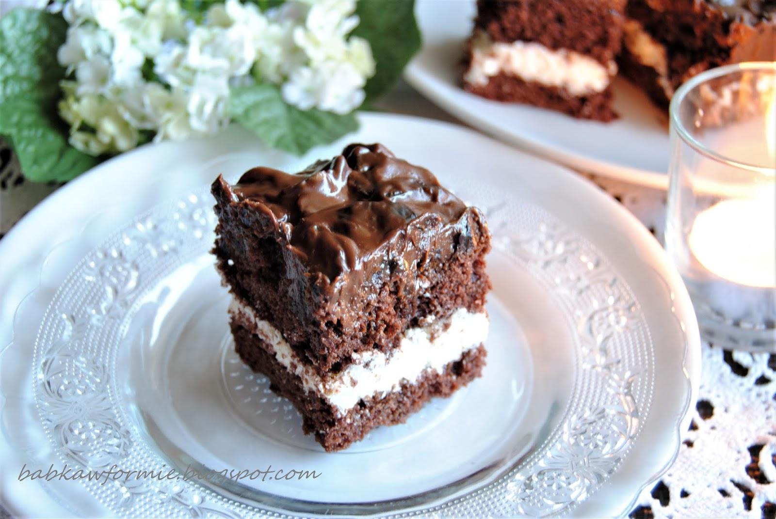 ciasto śliwka w czekoladzie babkawformie.blogspot.com
