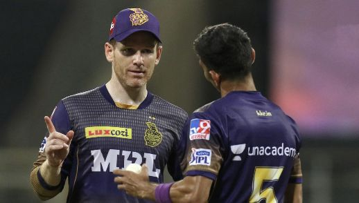 KKR captain Morgan fined for slow over-rate against CSK