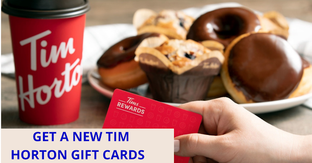 Get a Free Tim Hortons $100 Gift card