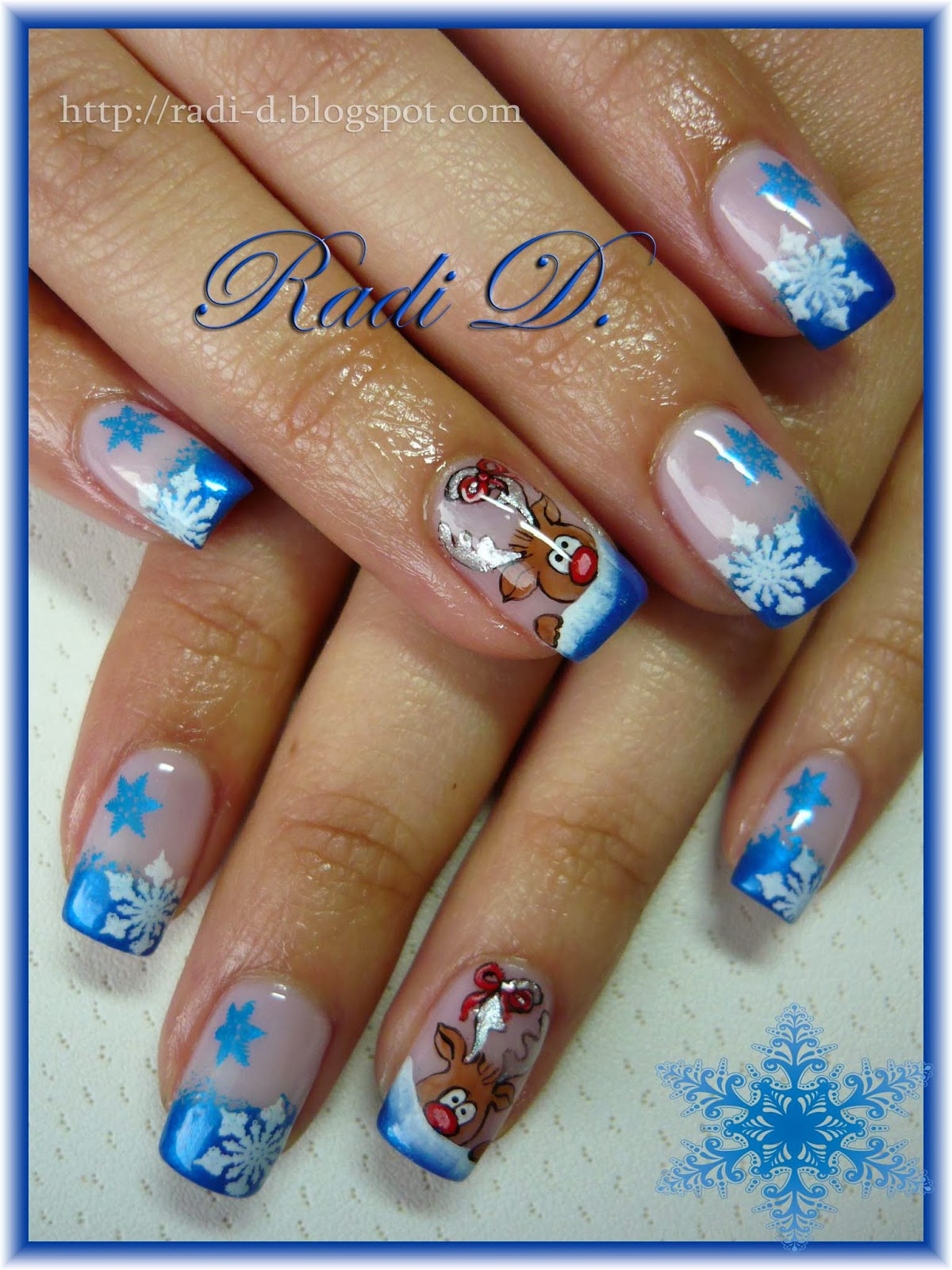 It`s All About Nails: Peering Out Reindeer
