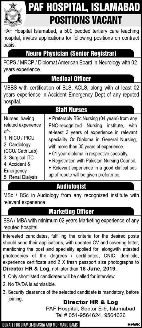 paf hospital jobs