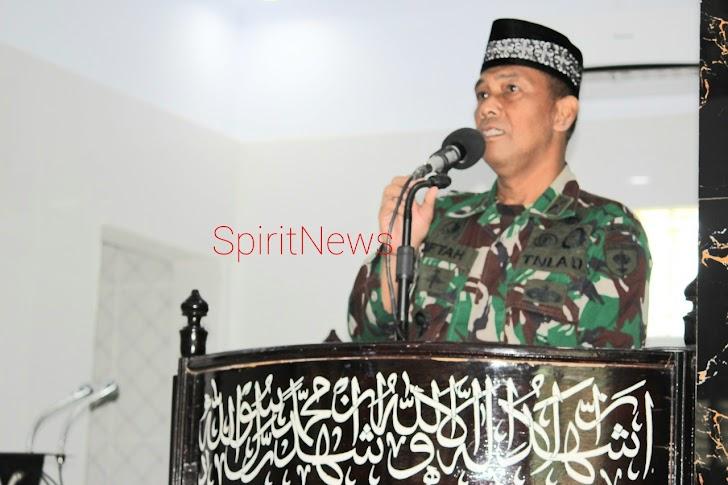 Korem.141/Tl, Peringari Isra Mi'raj Nabi Muhammad SAW 1442 Hijriah
