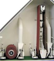 abrasive belt station combined with abrasive brush station