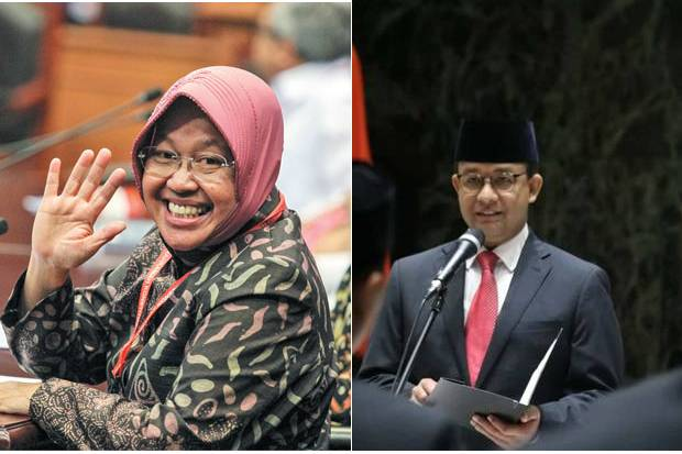 Survei Cagub DKI Jakarta: Risma Meroket, Anies Terancam!