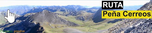 Ruta de montaña a Peña Cerreos en el Macizo de Ubiña
