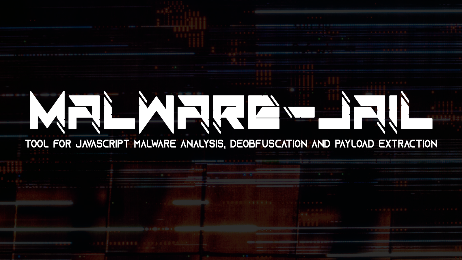 Malware-Jail - Tool For Javascript Malware Analysis, Deobfuscation and Payload Extraction