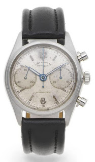 copy rolex stainless steel manual wind chronograph wristwatch