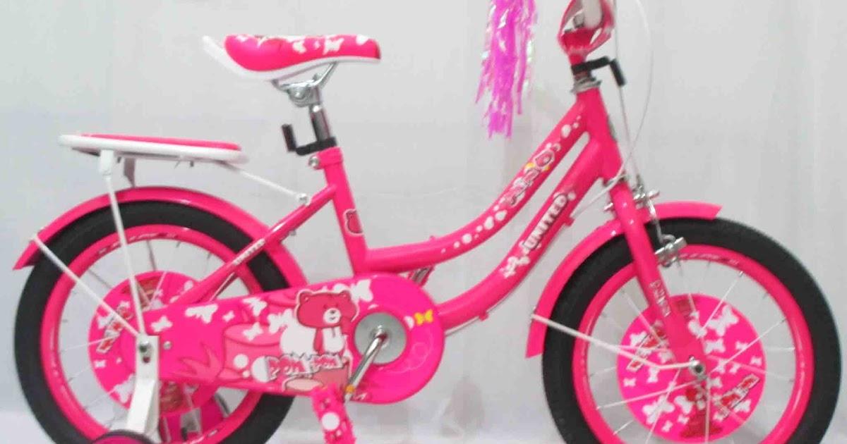 Mester Lifestyle: United Pom Pom Sepeda Anak Perempuan 16 Inci