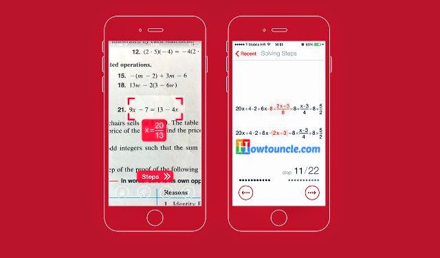 Photomath: Solve Math Problems within Seconds
