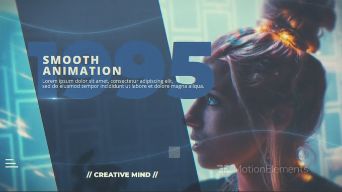 Simple Corporate Slideshow : After Effects Template