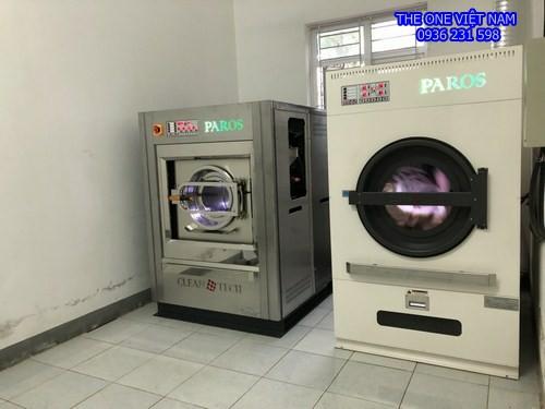 Máy giặt sấy là công nghiệp cho khách sạn