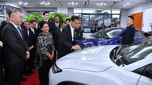 Indonesia Jadi Basis Produksi Hyundai, Luhut: Sesuai Harapan
