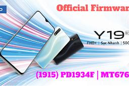 Firmware Vivo Y19 (PD1934F)