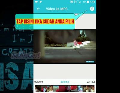 Cara Merubah File Video Ke Mp3 Di Android Dan PC Hanya Dengan Sekali Klik