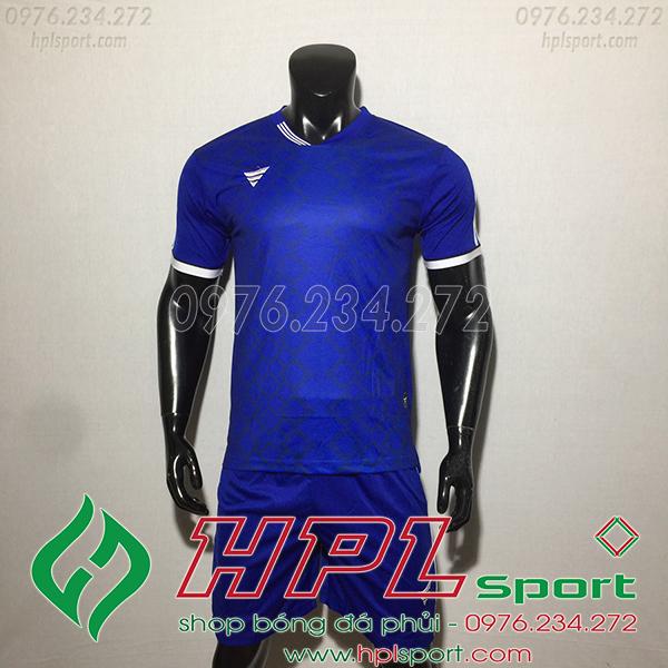 Áo ko logo TA NC màu xanh dương
