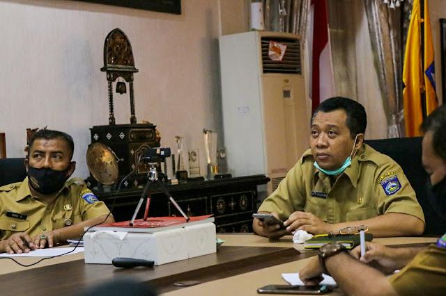 Gubernur Ikuti Rakornas Pengawasan Intern, Presiden Tekankan Tata Kelola Anggaran Covid-19 Harus Baik