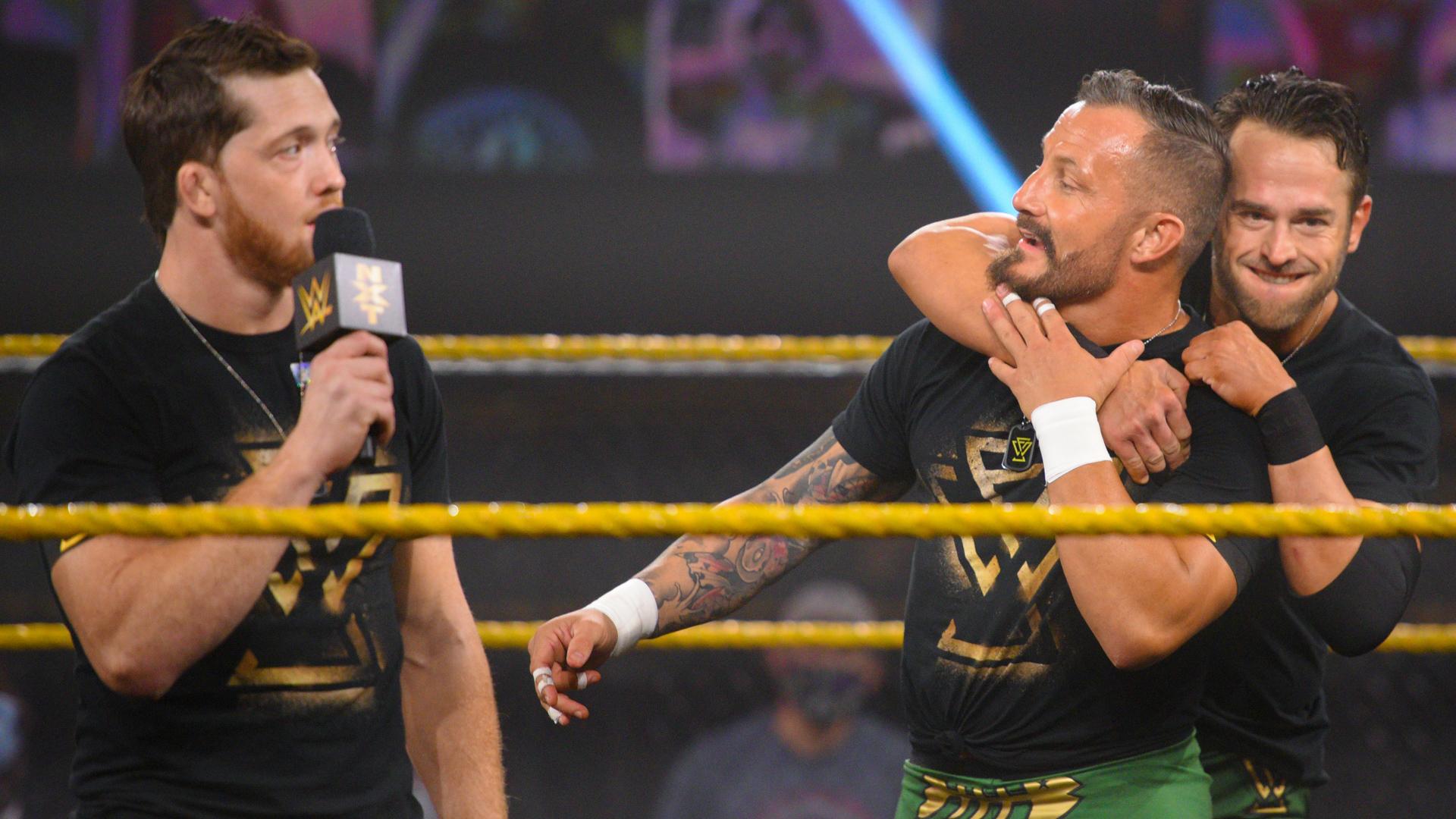 Combate por título é anunciado para o próximo WWE NXT