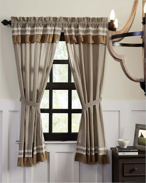 farmhouse kitchen curtains and valances
