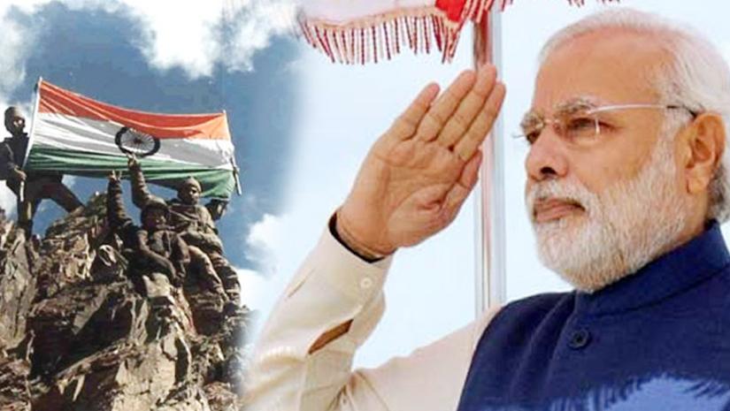 PM Modi wrote on social media on the occasion of Kargil Vijay Diwas