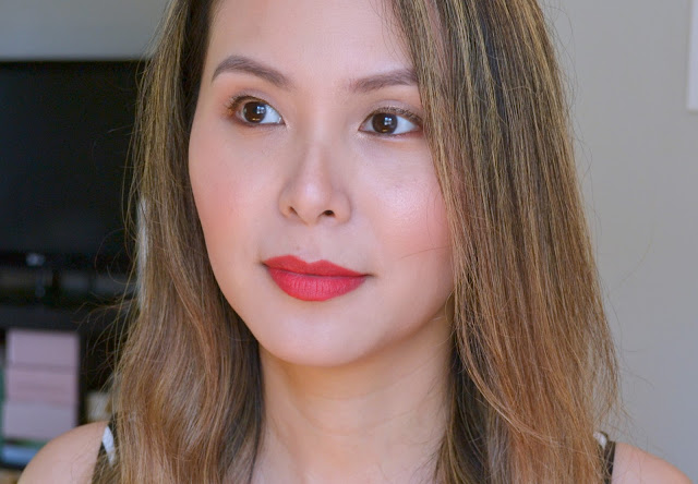 Charlotte Tilbury Hot Lips 2 Patsy Red Swatch