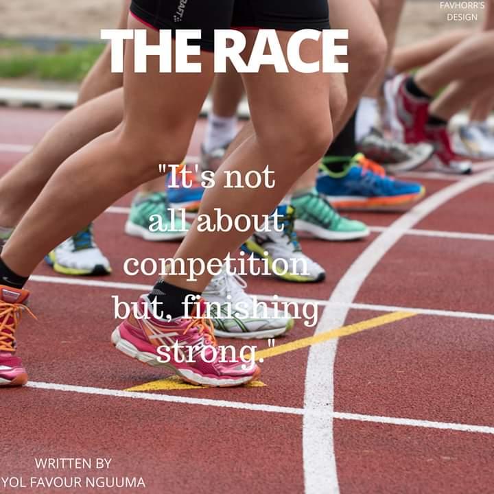 The RACE by Yol favor Nguuma #Arewapublisize