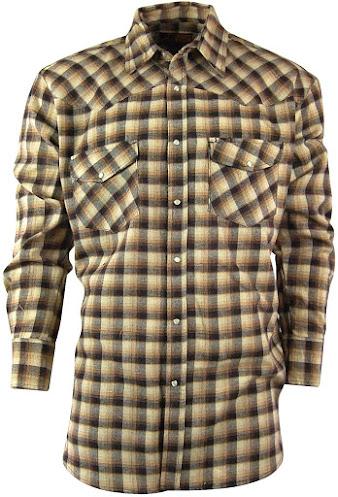 Best Men's Snap Buttons Plaid Flannel Shirts