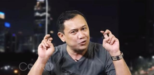 "Viral Berita Denny Siregar Meninggal Dunia, ""Itu Kang Parkir, Bukan Gua"""