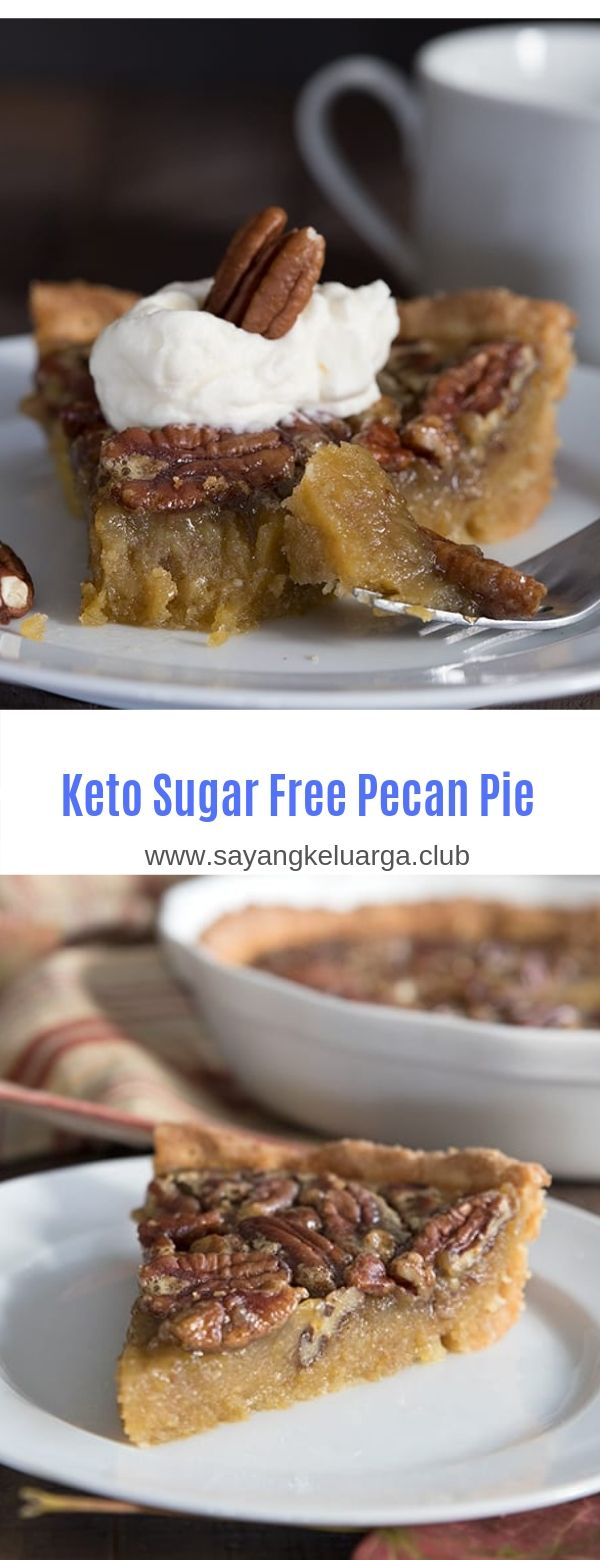 Keto Sugar Free Pecan Pie