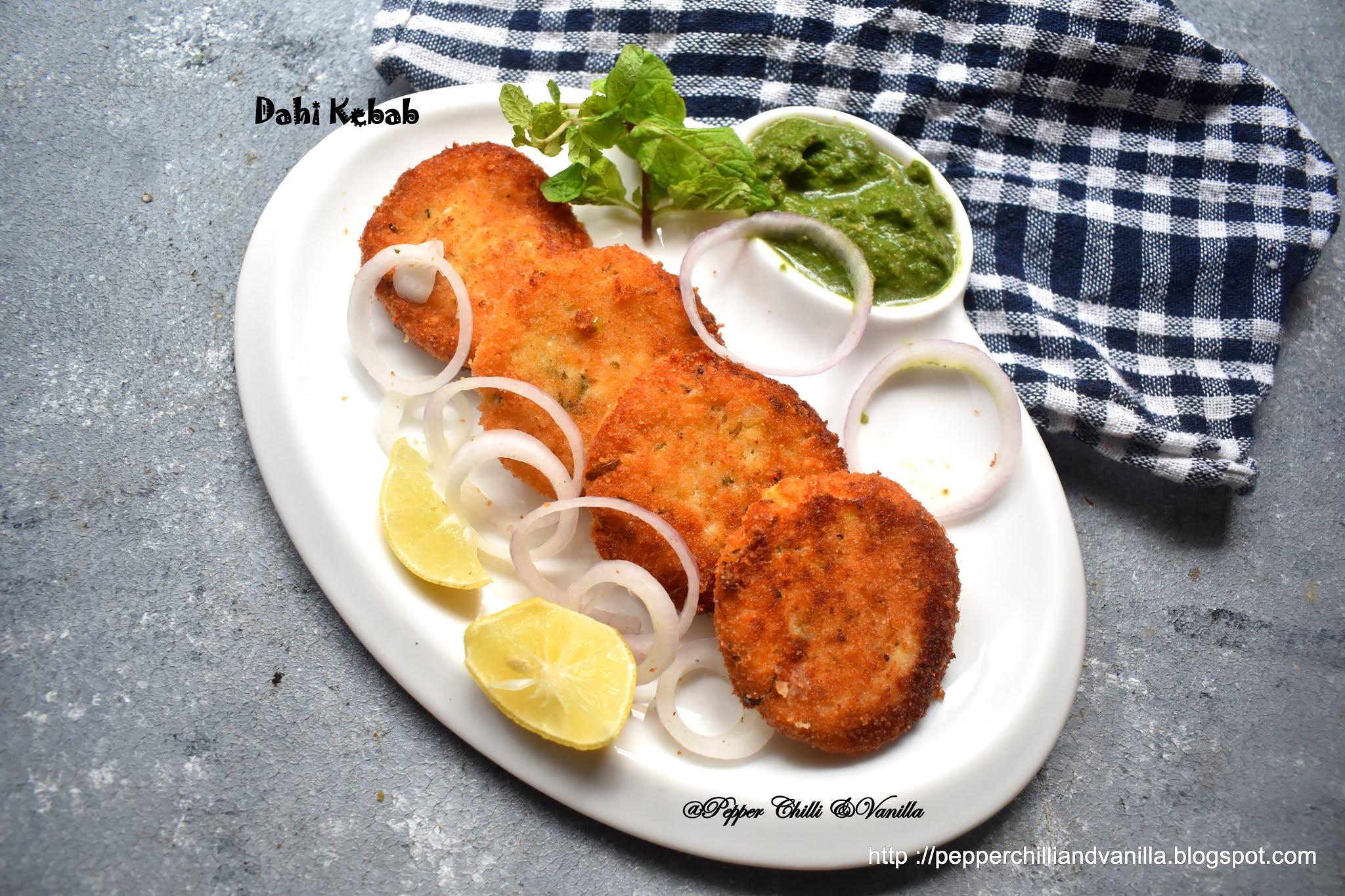 dahi kabab ,hung curd kabab,dahi ke shole