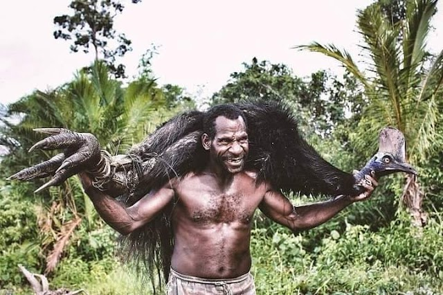 Kehidupan Masyarakat papua Menyatu Dengan Alamnya