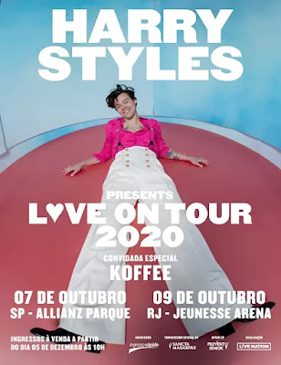 Harry Styles no Brasil