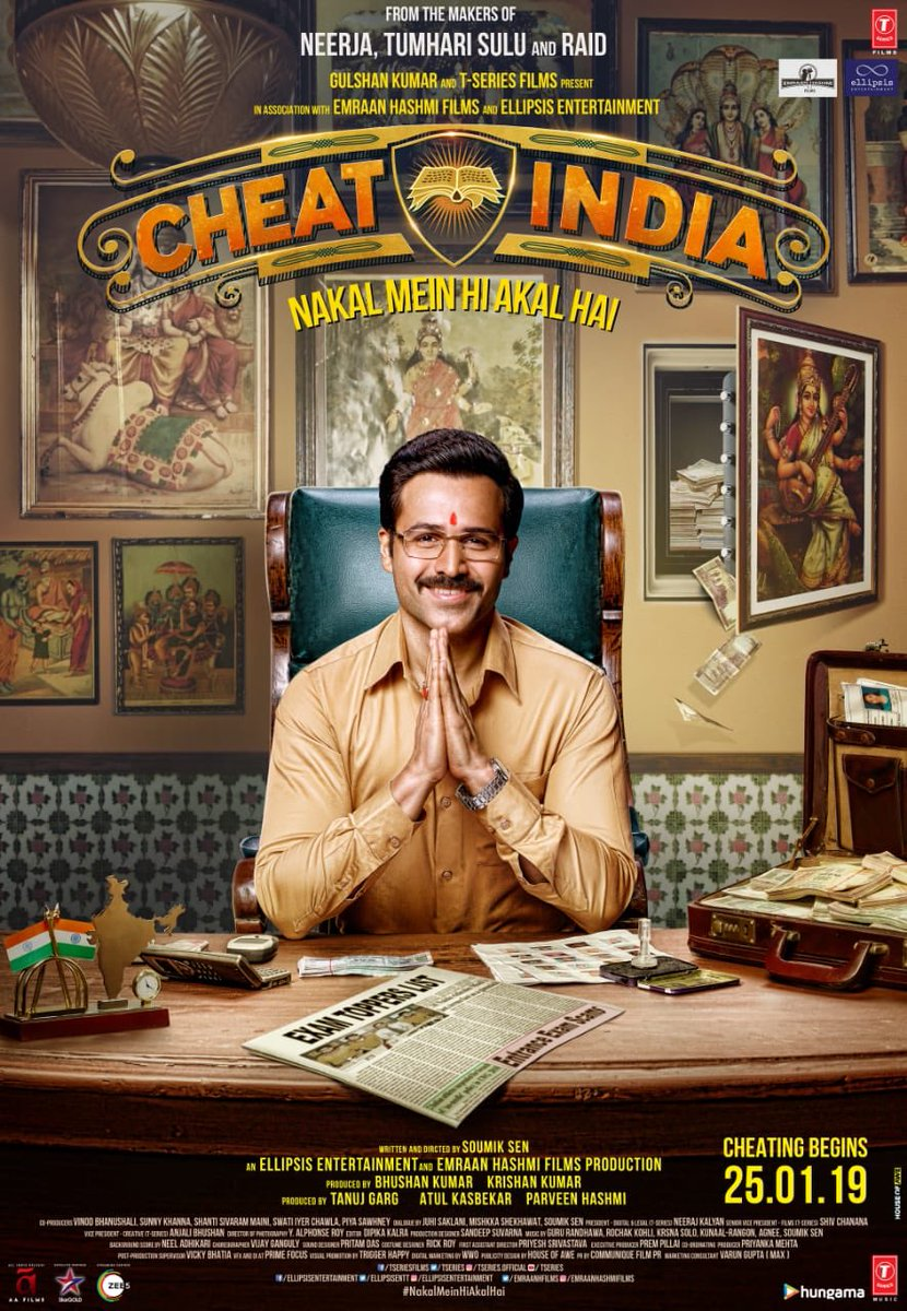 Cheat India - First Look Poster