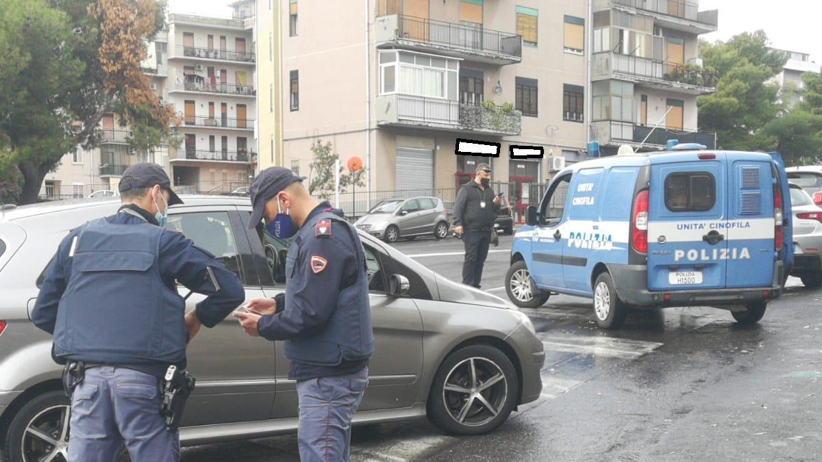 Operazione Polizia Stradale Catania