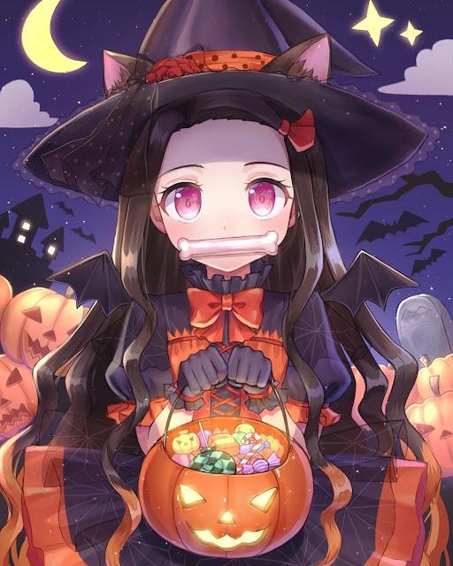 Hình ảnh Kimetsu no yaiba halloween 2020 - Kamado Nezuko 2