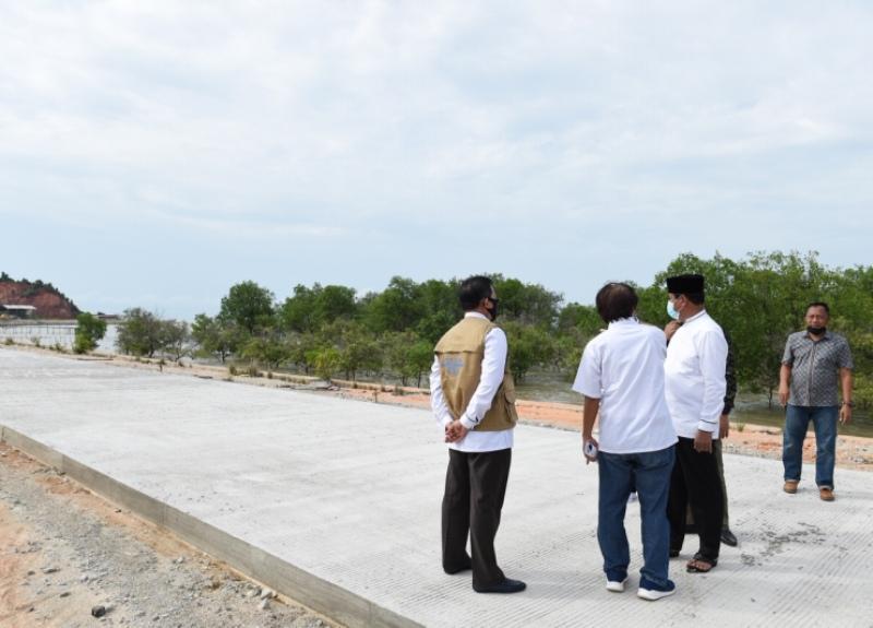 Isdianto Tinjau dan Resmikan Jalan di Tanjungbalai dan Belat saat Lakukan Kunjungan Kerja