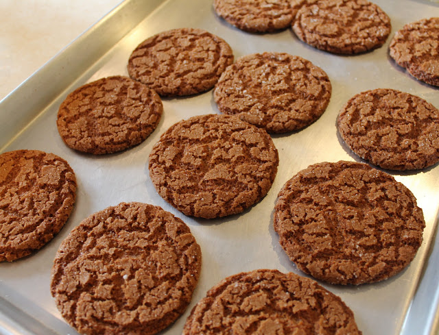 Baked Gingersnap Cookies