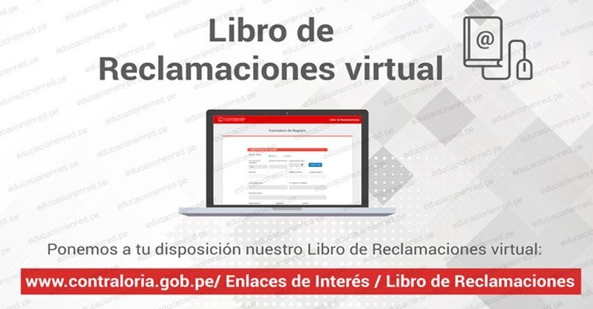 Contraloría General de la República habilitó libro de reclamaciones virtual - www.contraloria.gob.pe