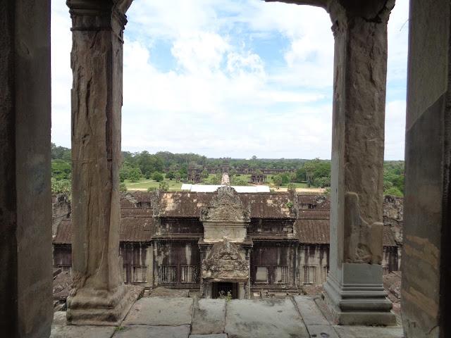 Angkor Wat, torre Bayon interior del complejo (Camboya)